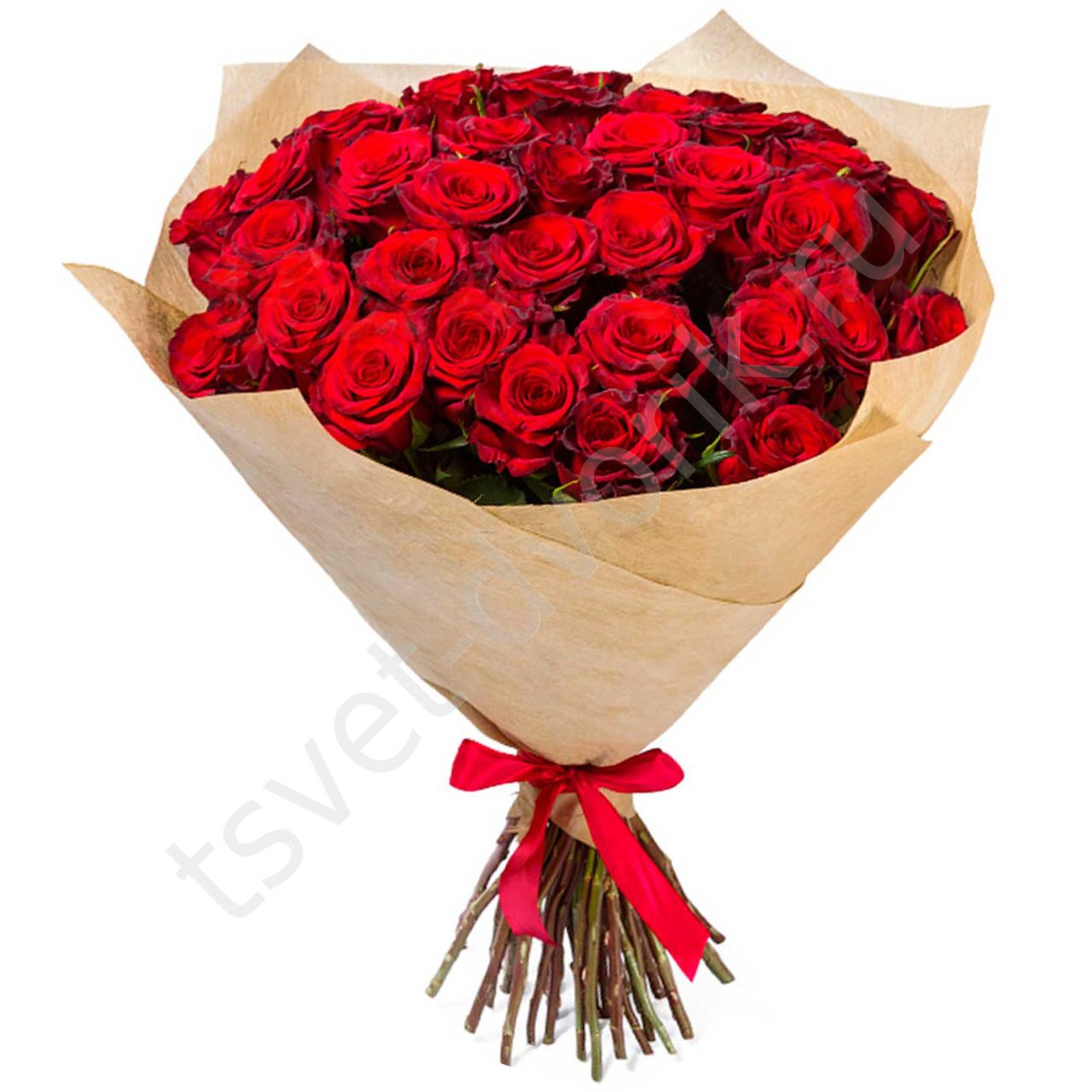 Букеты из цветов роза 45